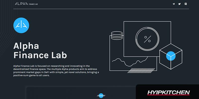 Alpha Finance Lab (ALPHA) на Binance Launchpad и Launchpool