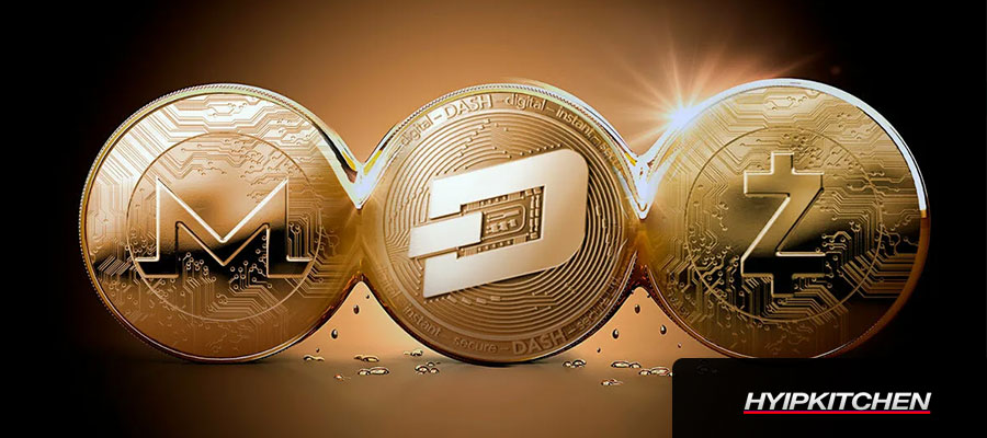 Анонимный крипто-сезон 2021. Dash вырос на 100% за неделю, Monero и Zcash идут следом