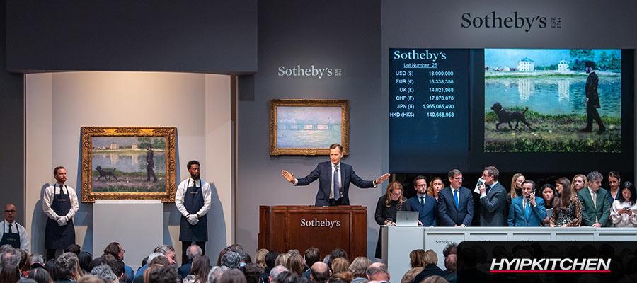 Sotheby's планирует провести свою первую продажу NFT уже в апреле 2021