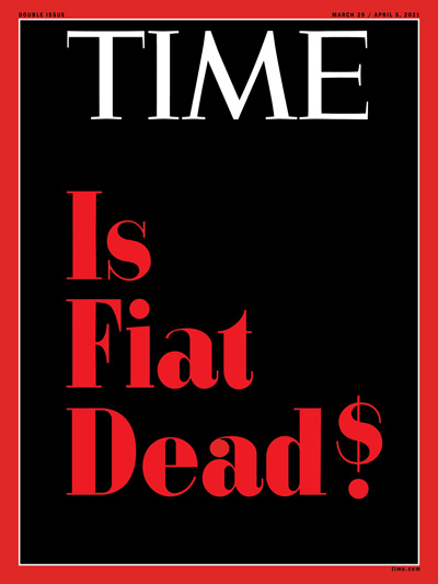 Обложка Time Fiat is Dead