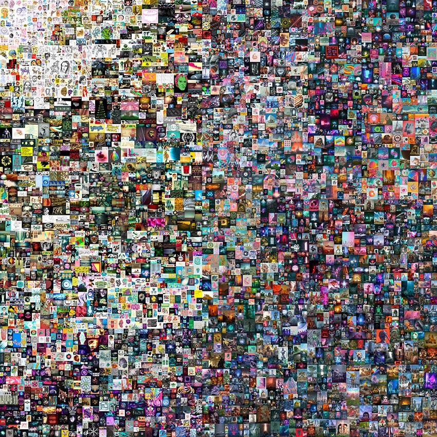 NFT Картина «Первые 5000 дней»