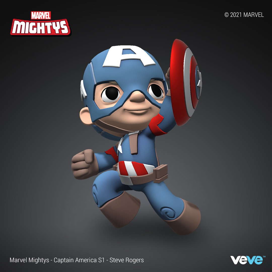 Capitan America NFT Marvel