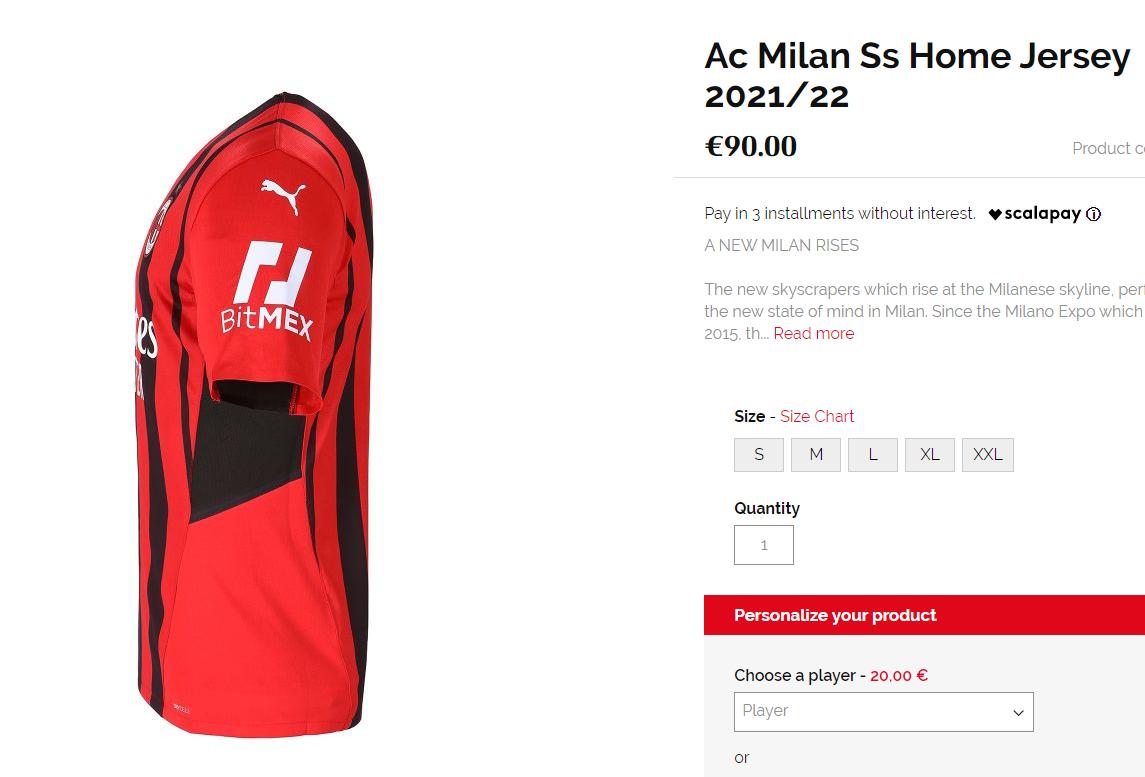 bitMex и AC Milan