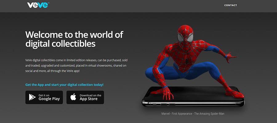 Veve Человек-паук