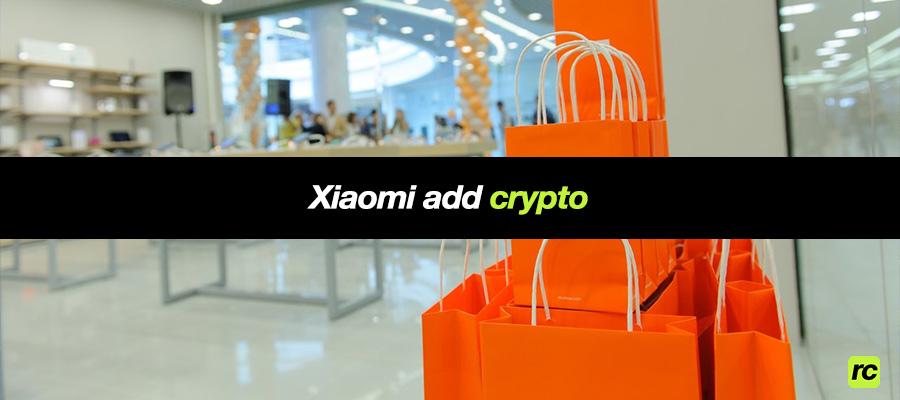 Магазин Xiaomi Mi Store в Португалии добавил поддержку криптовалют