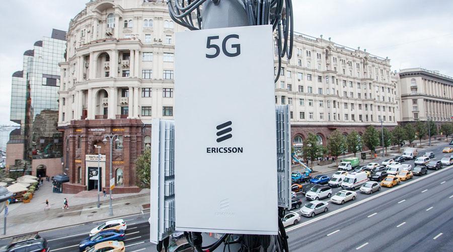 Эрикссон 5G в России