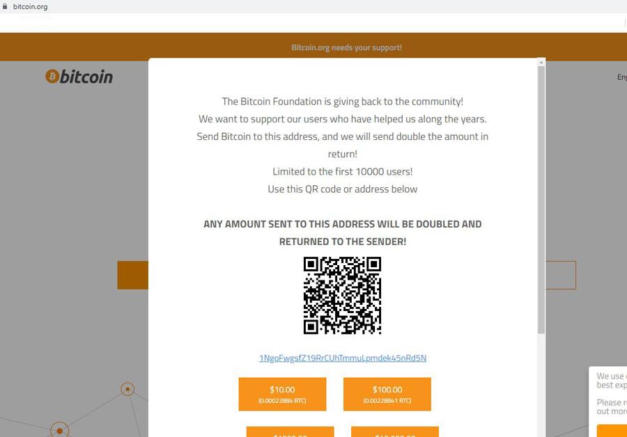 Взлом bitcoin.org